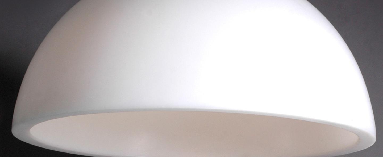 Suspension cupole blanc o200cm slide normal