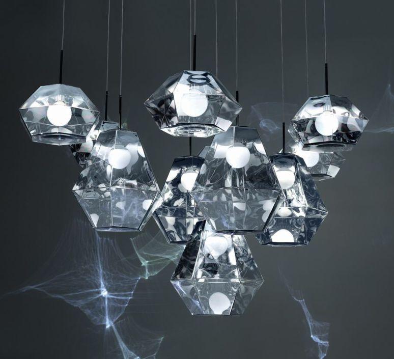 Cut short tom dixon suspension pendant light  tom dixon cusp01cheu  design signed 48709 product