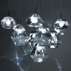 Cut short tom dixon suspension pendant light  tom dixon cusp01cheu  design signed 48709 thumb