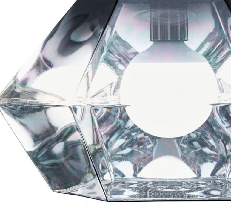 Cut short tom dixon suspension pendant light  tom dixon cusp01cheu  design signed 48710 product
