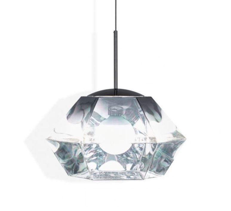 Cut short tom dixon suspension pendant light  tom dixon cusp01cheu  design signed 48712 product