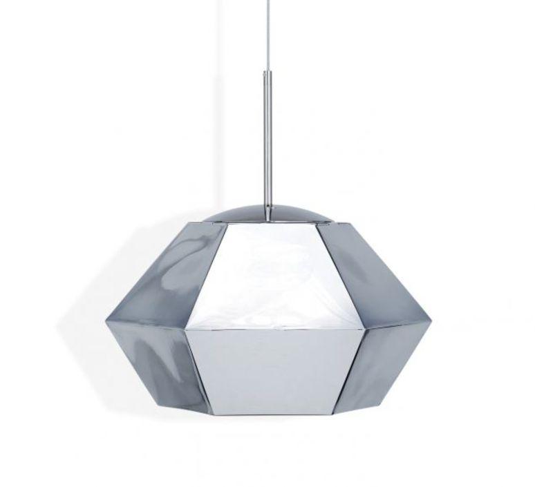 Cut short tom dixon suspension pendant light  tom dixon cusp01cheu  design signed 48714 product