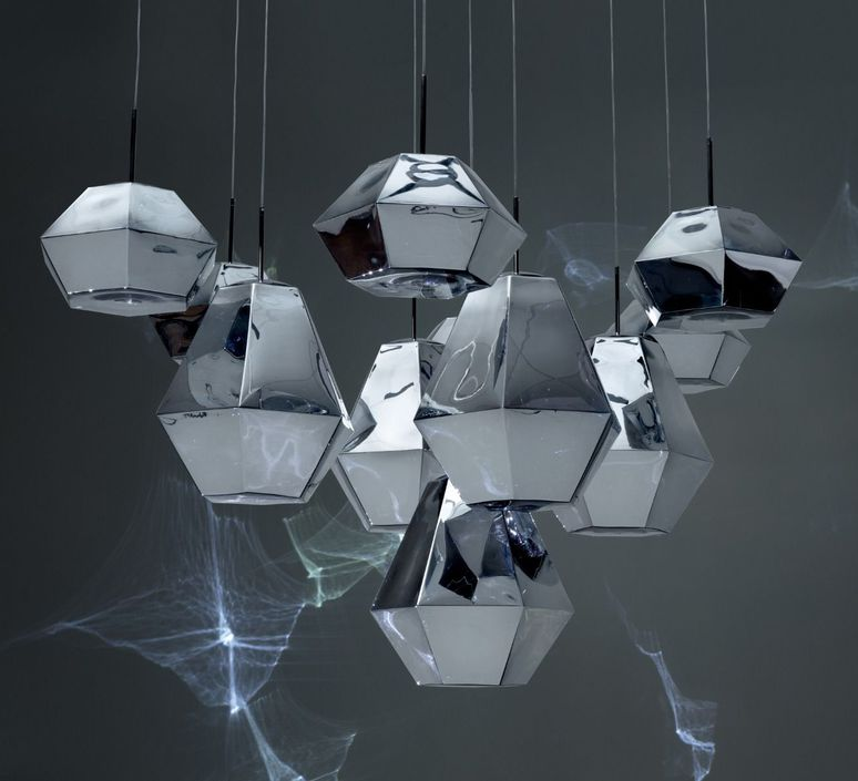 Cut short tom dixon suspension pendant light  tom dixon cusp01cheu  design signed 48716 product