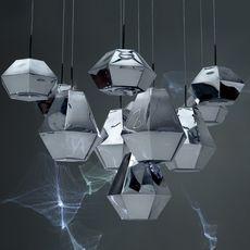 Cut short tom dixon suspension pendant light  tom dixon cusp01cheu  design signed 48716 thumb