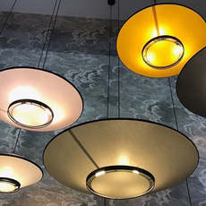 Cymbal jette scheib suspension pendant light  forestier 21203  design signed 59014 thumb