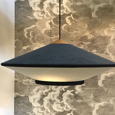Cymbal jette scheib suspension pendant light  forestier 21211  design signed 59055 thumb