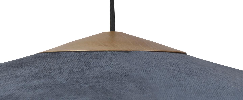 Suspension cymbal bleu nuit o95cm h25cm forestier normal