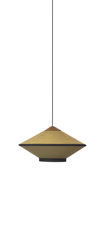 Suspension cymbal bronze o50cm h23cm forestier normal