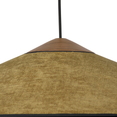 Cymbal jette scheib suspension pendant light  forestier 21215  design signed 59080 thumb