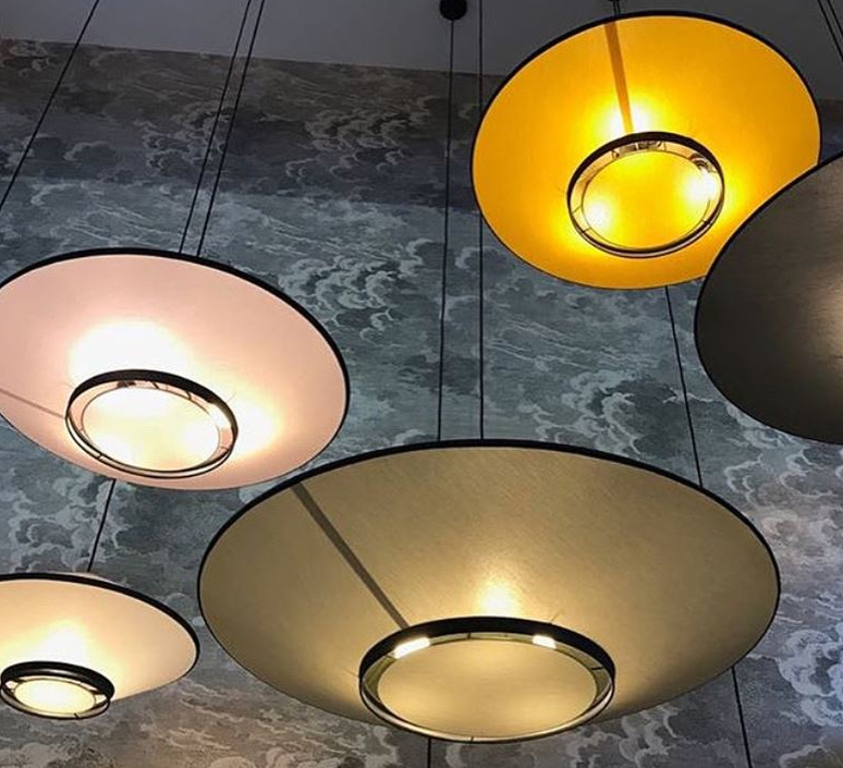 Cymbal jette scheib suspension pendant light  forestier 21215  design signed 59085 product