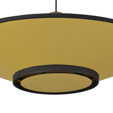Cymbal jette scheib suspension pendant light  forestier 21215  design signed 59298 thumb