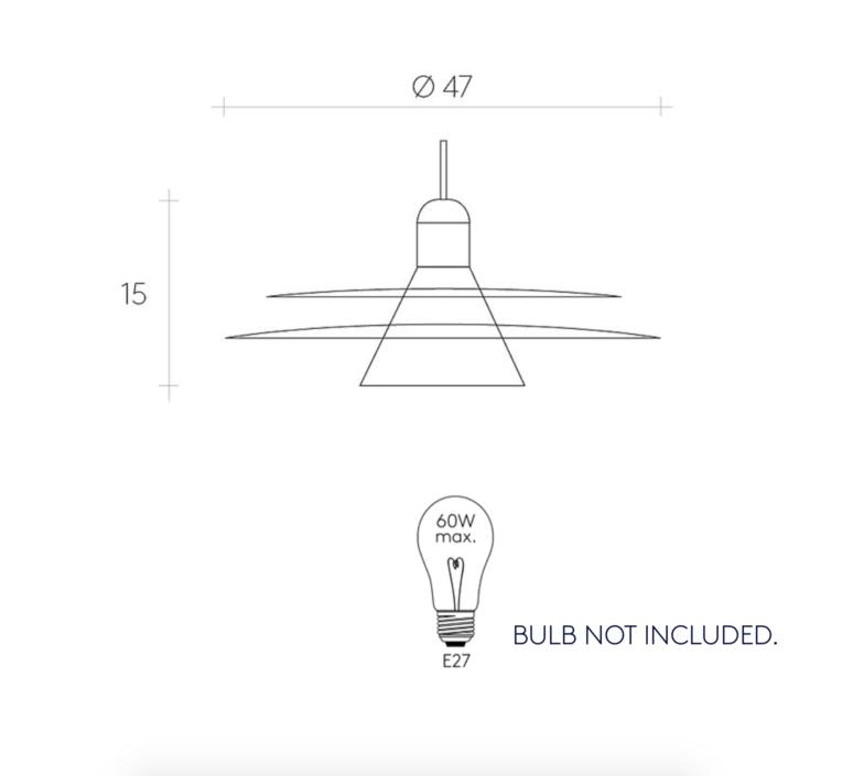 Cymbal studio la chance suspension pendant light  la chance lc320101  design signed 38309 product