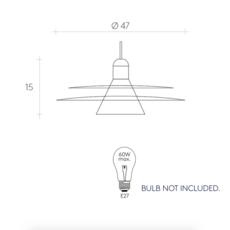 Cymbal studio la chance suspension pendant light  la chance lc320101  design signed 38309 thumb