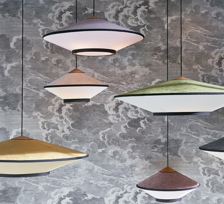 Cymbal jette scheib suspension pendant light  forestier 21216  design signed 59089 product