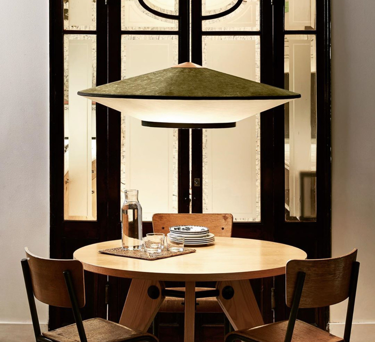 Cymbal jette scheib suspension pendant light  forestier 21216  design signed 68181 product