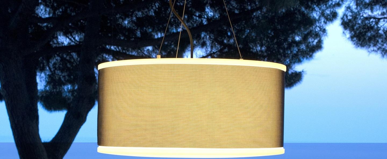 Suspension d exterieur cala marron o53cm marset normal