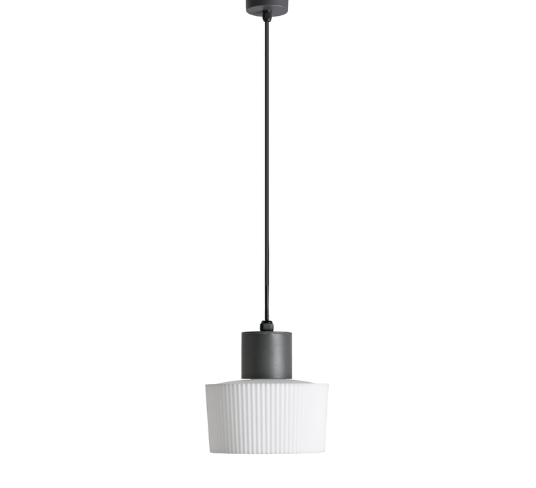 Suspension d 39 ext rieur muffin gris anthracite 22cm - Suspension d exterieur ...