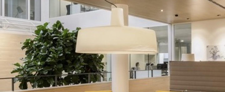 Suspension d exterieur soho blanc o112 6cm marset normal