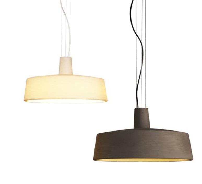 suspension d 39 ext rieur soho blanc 57cm marset luminaires nedgis. Black Bedroom Furniture Sets. Home Design Ideas