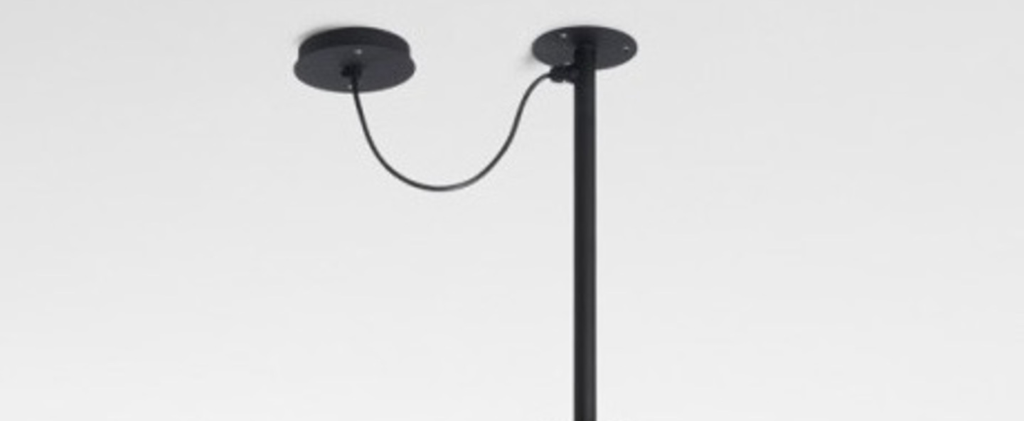 Suspension d 39 ext rieur soho c led noir 57cm marset - Suspension d exterieur ...