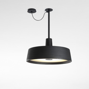 Suspension d exterieur soho c led noir o57cm marset normal