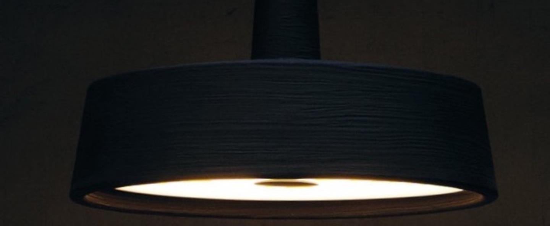 Suspension d exterieur soho noir o112 6cm marset normal