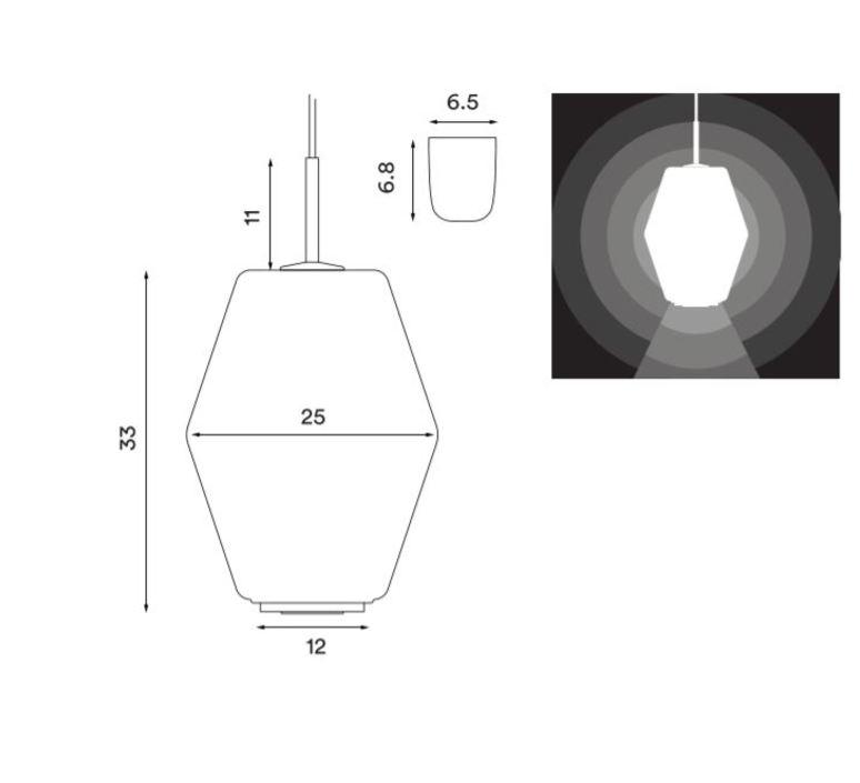 Dahl birger dahl northern lighting  dahlbrass luminaire lighting design signed 56040 product
