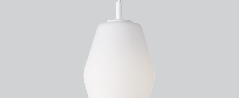 Suspension dahl blanc o14 8cm h26cm northern normal