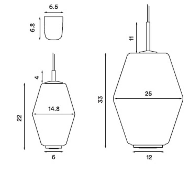 Dahl  suspension pendant light  northern lighting 493  design signed nedgis 63508 product