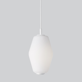 Suspension dahl blanc o14 8cm h26cm northern normal
