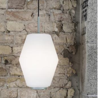 Suspension dahl blanc vert h33cm northern lighting normal
