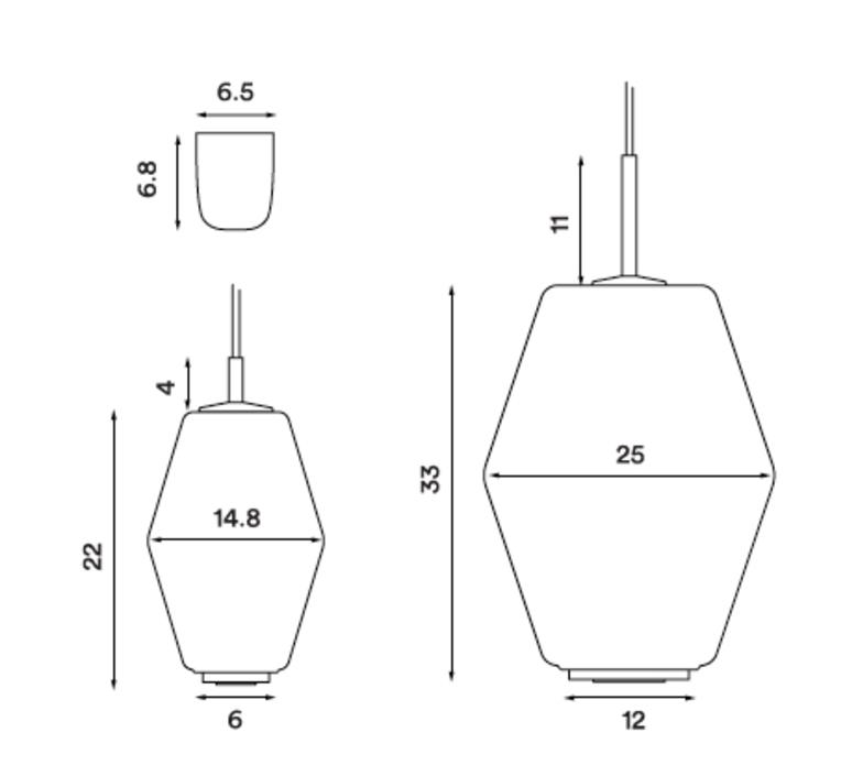 Dahl  suspension pendant light  northern lighting 492  design signed nedgis 63405 product
