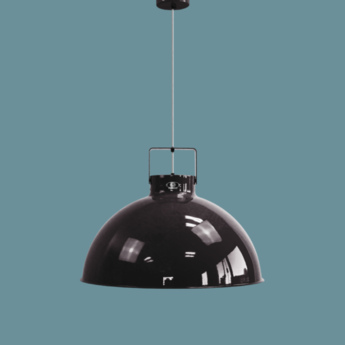 Suspension dante 675 noir et or o67 5cm h49cm jielde normal