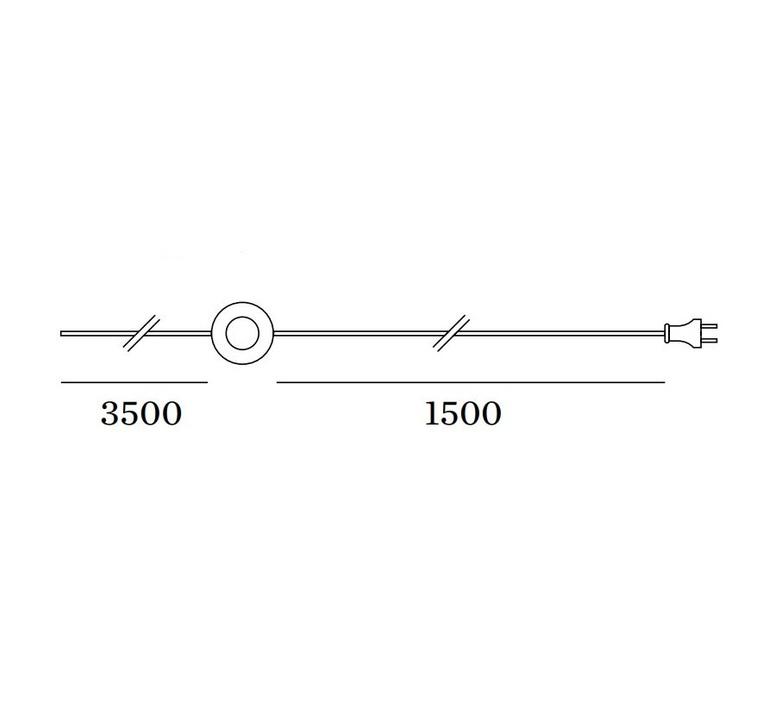 Darf wall surface 1 0 non dim studio wever ducre suspension pendant light  wever et ducre 2563t7b4  design signed nedgis 93235 product