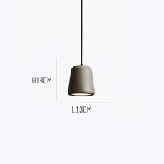Dark grey concrete noergaard kechayas suspension pendant light  newworks 20117  design signed 30664 thumb