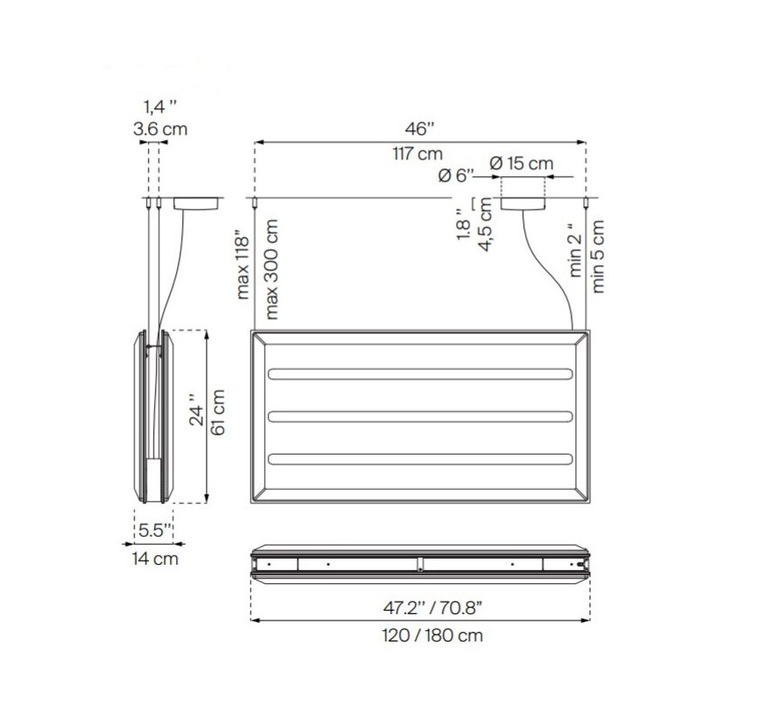 Diade d93 monica armani suspension pendant light  luceplan 1d930sddl020 1d93030000a4 1d9308000020  design signed 56421 product