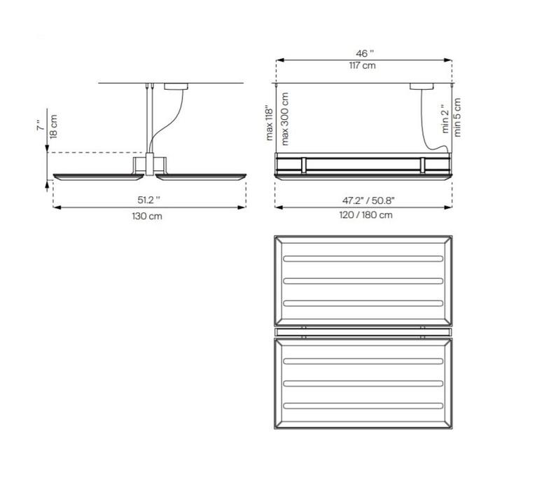 Diade d93 monica armani suspension pendant light  luceplan 1d930sddc020 1d93010000a2 1d9306000020  design signed 56391 product