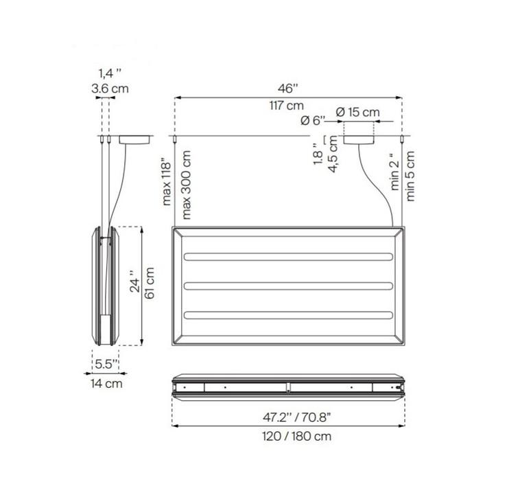 Diade d93 monica armani suspension pendant light  luceplan 1d930sddl020 1d93030000a1 1d9307000020  design signed 56398 product