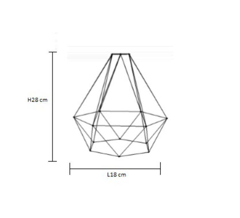 Diamond 1 laurent mare filamentstyle filament001 luminaire lighting design signed 18736 product