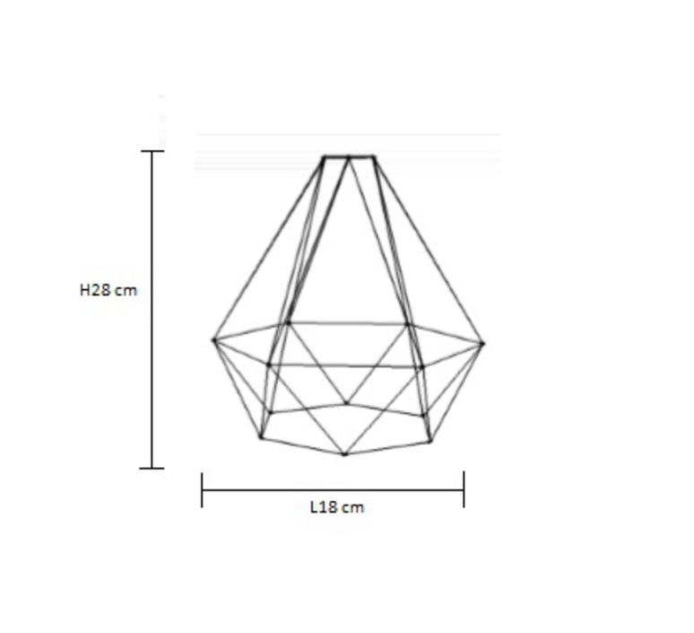 Diamond 1 laurent mare filamentstyle filament002 luminaire lighting design signed 18741 product