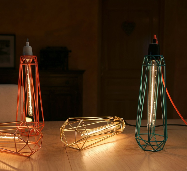 Diamond 2 laurent mare filamentstyle filament007 luminaire lighting design signed 18770 product