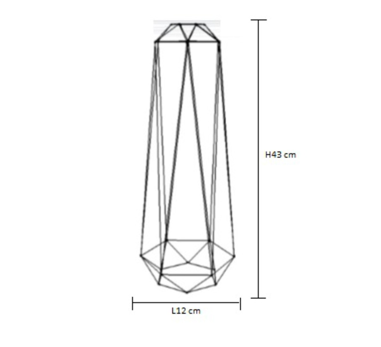 Diamond 2 laurent mare filamentstyle filament008 luminaire lighting design signed 18780 product