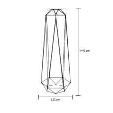 Diamond 2 laurent mare filamentstyle filament008 luminaire lighting design signed 18780 thumb