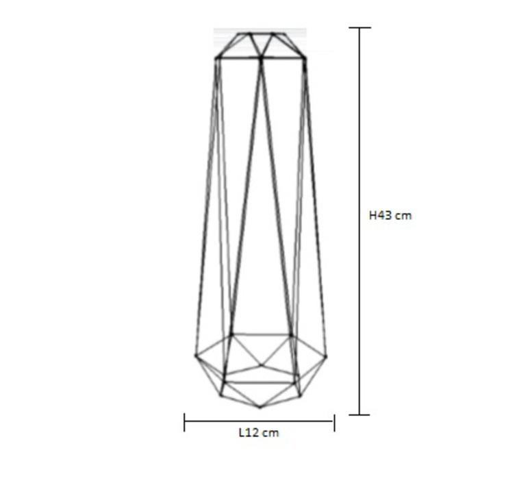 Diamond 2 laurent mare filamentstyle filament015 luminaire lighting design signed 18801 product