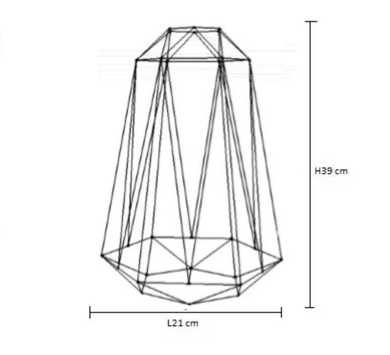 Diamond 5 laurent mare filamentstyle filament018 luminaire lighting design signed 18844 product