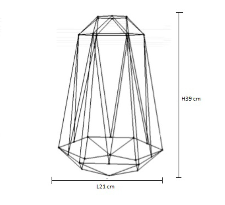 Diamond 5 laurent mare filamentstyle filament012 luminaire lighting design signed 18820 product