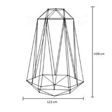 Diamond 5 laurent mare filamentstyle filament012 luminaire lighting design signed 18820 thumb