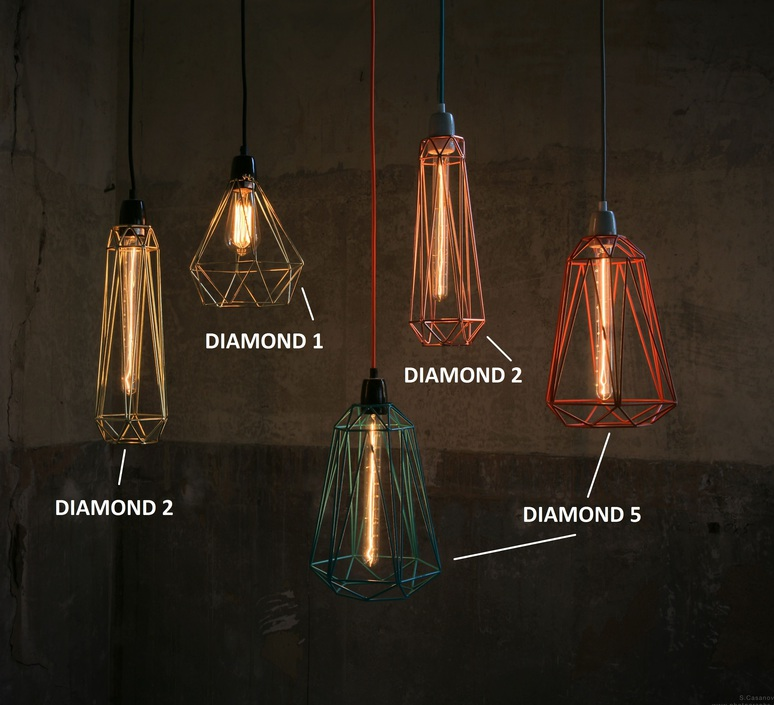 Diamond 5 laurent mare filamentstyle filament013 luminaire lighting design signed 18825 product