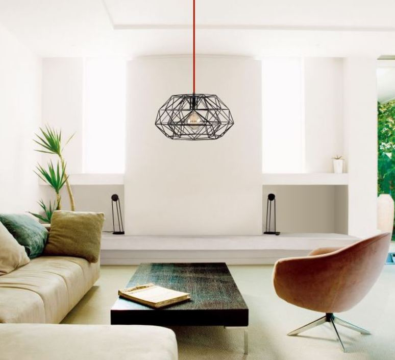 Diamond 7  suspension pendant light  filamentstyle filament025  design signed 51834 product