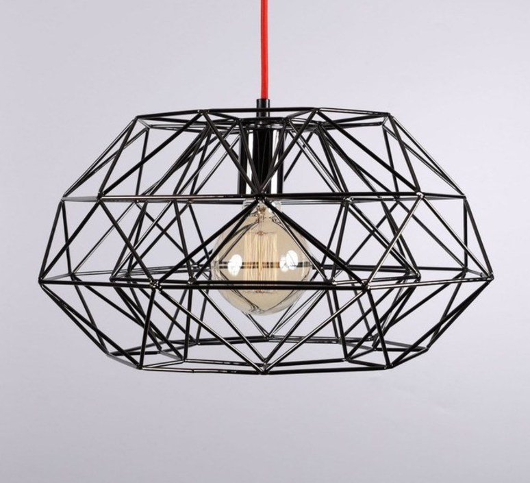 Diamond 7  suspension pendant light  filamentstyle filament025  design signed 51835 product